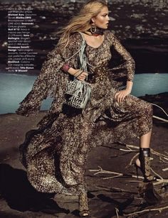 Glamour Italia October 2014   Olga Maliouk by Signe Vilstrup [Editorial]