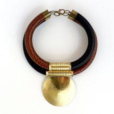 Statement Chokers lockets necklace African от havanaflamingo