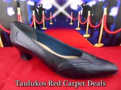 Size 11 Narrow #SELBY Comfort Flex #Navy #Blue #LEATHER High #Heels #Pumps Women's #shoes