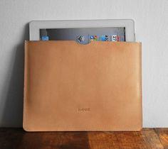 Leather ipad case, Leather ipad sleeve, Leather sleeve,. $95.00, via Etsy.