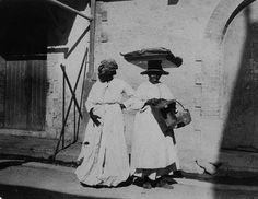 To Market, Kingston, Jamaica, 1905 by The Caribbean Photo Archive, via Flickr