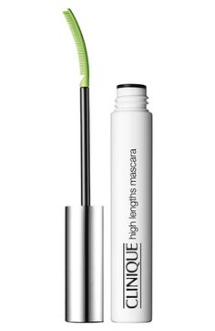 Clinique, High Lengths Mascara.  The wand is scary, but this stuff works.  My brand new favorite.