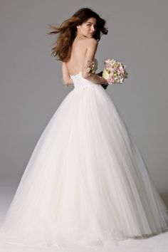 Watters Brides Nadia Skirt