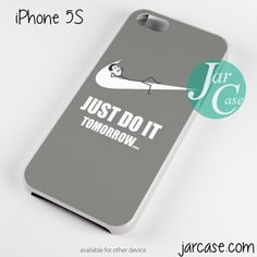 just do it tomorrow meme Phone case for iPhone 4/4s/5/5c/5s/6/6 plus