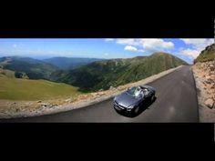 2013 Mercedes Benz 500SL , B-Class, ML and GLK on Transalpina  and Transfagarasan (Romania)
