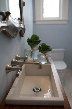 narrow bathroom vanities - Google Search