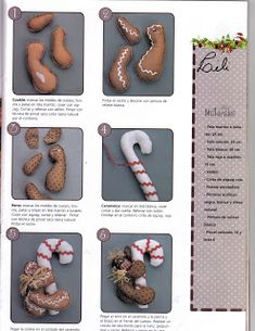 Album Archive - Muñequeria Country No. Gingerbread Ornaments, Gingerbread Cookies, Holiday Crafts, Cookie Cutters, Xmas, Desserts, Dyi Crafts, Club, Country