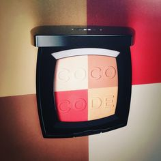 Preview! Extrabusy day ends in glory at Chanel press day in Milan and it's soon love at first sight for the new limited edition palette coco code from Spring 2017 makeup collection. Great job once more Lucia Pica! coming next on the beauty cove...