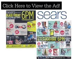 Sears Black Friday Ad 2014