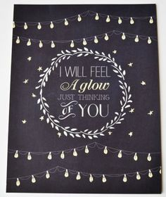 i will feel a glow just thinking of you frank sinatra wedding print