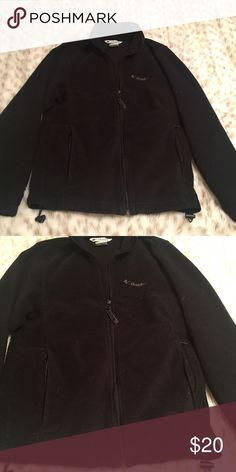 Men's Columbia Full Zip Jacket Men's Columbia black jacket! Size small. Used but In great condition. Columbia Jackets & Coats