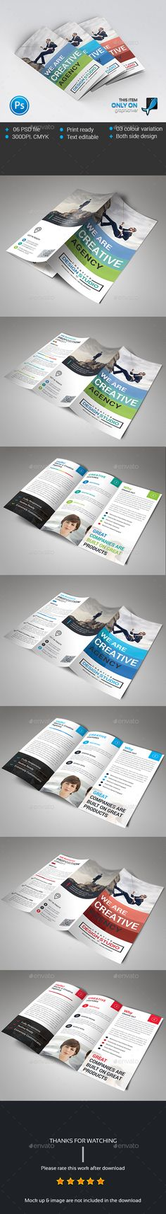 Trifold Brochure Template PSD. Download here: http://graphicriver.net/item/trifold/14596987?ref=ksioks