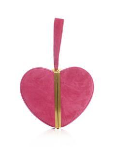 Diane Von Furstenberg  Heart box-clutch bag