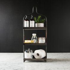 Metal Tiered Display | Magnolia Market | Bathroom | Organization | Chip & Joanna Gaines | Waco, TX