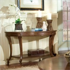 Lowest price online on all Magnussen Aidan Demilune Sofa Table - T1052-75