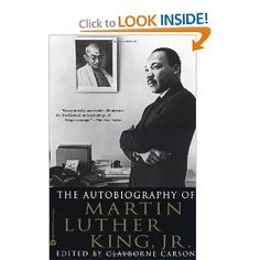 The Autobiography of Martin Luther King, Jr.: Martin Luther King Jr., Clayborne Carson: 9780446676502: Amazon.com: Books