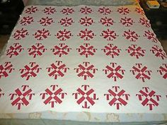 Antique Red and White Temperance Quilt | eBay, boohookitty