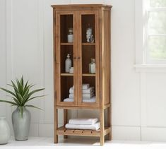 Bathroom Storage, Organization & Cabinets | Pottery Barn
