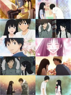 """Day 1 - An OTP: Sawako and Kazehaya, Kimi ni Todoke   """"People often say, """"Sorry,"""" to me when I do something for them. That's why, when we first met and you smiled and said, """"Thanks,"""" to me, I was so happy. I've been doing the exact opposite to you. So this time, instead of saying, """"Sorry,"""" to you…   Thank you for smiling at me. Thank you for talking to me. Thank you for being nice to me. Thank you for teaching me feelings I'd never known before.  What I mean is… I like you."""""""