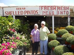 Me and my good friend, Myra, hit the open road recently to get some fresh produce in Dayton, TX.