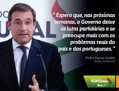 Pedro Passos Coelho, Presidente do Partido Social Democrata, na Inauguração da Nova Sede do PSD Almada  #PSD #acimadetudoportugal
