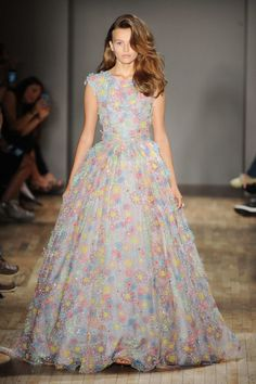What a colorful stunner by #JennyPackham #SS15