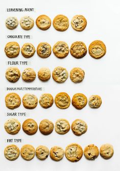 We tested every possible variable from sugar type to dough temperature in an attempt to develop the best chocolate chip cookie recipe. Here& everything we learned. Best Chocolate Chip Cookies Recipe, Chip Cookie Recipe, Chocolate Chip Oatmeal, Easy Cookie Recipes, Dessert Recipes, Chocolate Chocolate, Fluffy Chocolate Chip Cookies, Cookie Tips, Healthy Chocolate