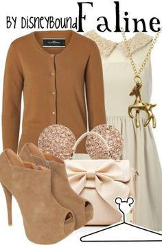 Disney Outfit - Faline (Bambi's mother) Especially love the shoes.