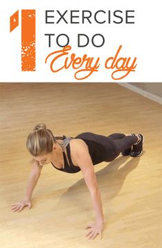 This exercise routine combines three simple moves that are effective and will help you tone up your body. All you need to do are a plank, push up and downward dog.