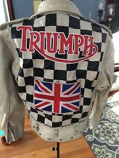 Bikers Vest Tank Top Mens Global Union Of Biker Cafe Racer Ton Up Boys Gym Vest