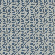 The Original Morris & Co - Arts and crafts, fabrics and wallpaper designs by William Morris & Company | Products | British/UK Fabrics and Wallpapers | Rosehip (DM3W214711) | Archive III Wallpapers