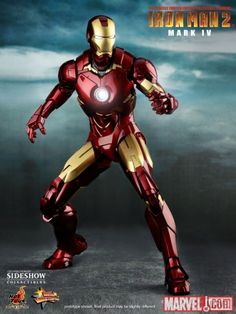 Iron Man Mark IV 12-inch Figure: Iron Man 2 - So Awesome!