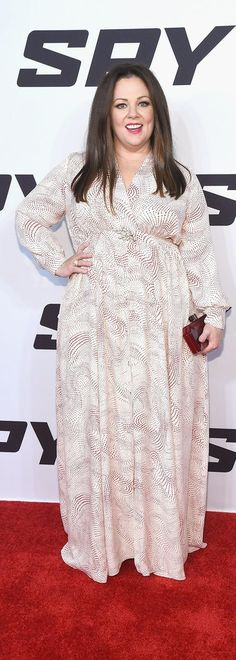 This breezy maxi dress is actually a piece from Melissa McCarthy's own line. August can't come soon enough!