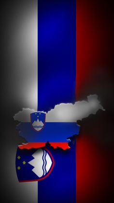 Symbols of Slovenia. Flag Country, Central And Eastern Europe, Pattern Photography, National Flag, Coat Of Arms, Czech Republic, Blue Backgrounds, Textures Patterns, Beautiful World