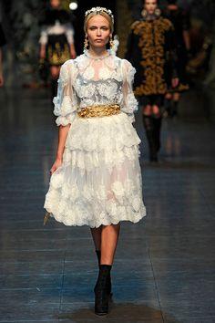 Dolce Gabbana fw2012