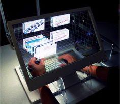 This Amazing 3-D Desktop Was Born at Microsoft
