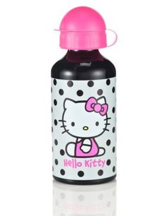 Hello Kitty Spotted Water Bottle | M&S