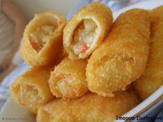 Aprenda a preparar a receita de Risolis de camarão