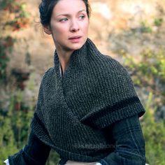 Modèle de tricot PDF Outlander Claire de loyer par KnitzyBlonde