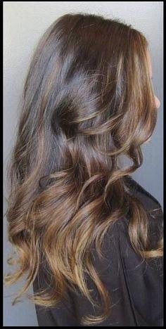 Ombre hair color for brunette hair Good Hair Day, Love Hair, Shatush Hair, Brilliant Brunette, Hair Styles 2014, Hair Affair, Ombre Hair Color, Balayage Hair, Bronde Hair