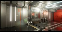 [UE4] Deus Ex Corridor - Polycount Forum