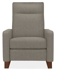{Dalton Recliner with Walnut Legs - Recliners & Lounge Chairs - Living - Room & Board}