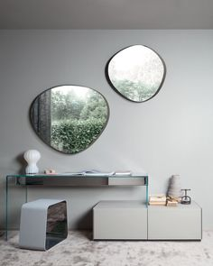 MIRROR ABOVE CONSOLE (SIMILAR - http://loaf.com/products/albie-mirror)