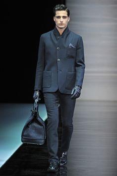 Giorgio Armani Mens RTW Fall2013