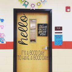 21 Welcoming Classroom Door Ideas for Back-to-School - TeacherVision School Counselor Office, High School Classroom, Counseling Office, School Office, Kindergarten Door, Classroom Bulletin Boards, Art Classroom Door, Classroom Welcome Boards, Speech Classroom Decor