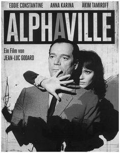 Poster | Alphaville, une étrange aventure de Lemmy Caution, Jean-Luc Godard (1965)