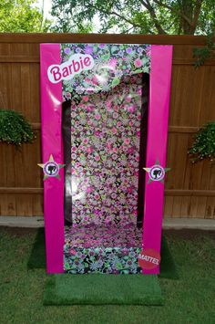 Barbie Princess Charm School Party photo booth