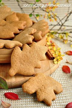 Ciasteczka cynamonowe szybkie Polish Desserts, Polish Recipes, Cinnamon Cookies, Yummy Cookies, Biscotti, Baking Recipes, Cake Recipes, Barbie Cake, Le Chef