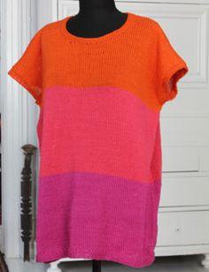 Strik en bluse i sodavandsfarver - - Femina.dk