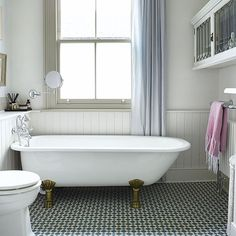 TILES..TOPPS TILES. Bathroom | Be inspired by this updated period house in southeast London | housetohome.co.uk